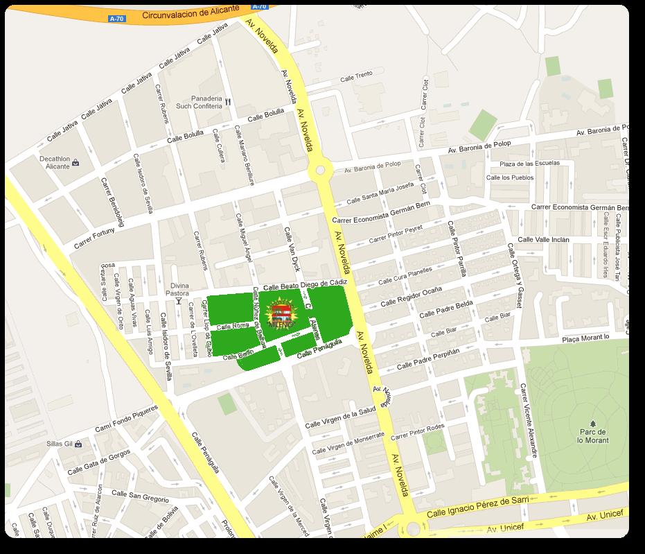 A v milenio haygon2 for Barrio ciudad jardin bogota